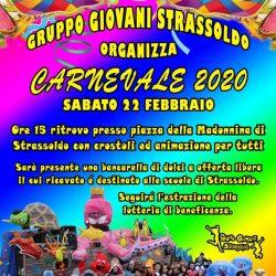 Carnevale 2020 Gruppo Giovani Strassoldo