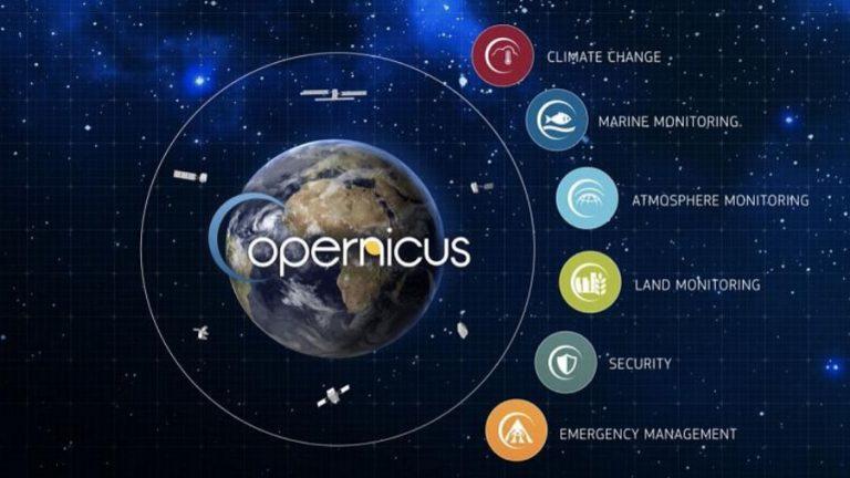 Qualità atmosfera tramite Copernicus