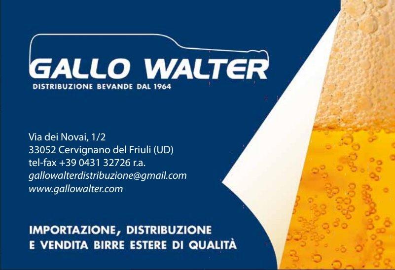 GALLO WALTER