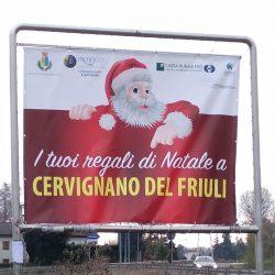 La Pro Loco esporta il messaggio Natalizio a Udine