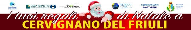 I tuoi Regali di Natale a Cervignano del Friuli